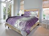Bavlnené posteľné obliečky Eva lila