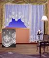 Hotová (kusová) žakárová záclona