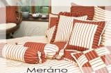 Bavlnené posteľné obliečky vidieckeho štýlu Meráno