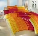 Bavlnené posteľné obliečky Bulvár červený