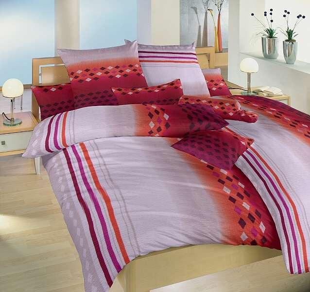 Krepové posteľné obliečky béžovej farby Dadka