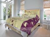 Bavlnené posteľné obliečky Páperie ružové