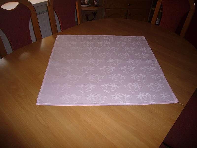 Podsedák ružový 60x60 Dadka