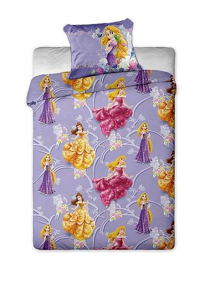 Disney obliečky s motívom Princess (princezien) pre dievčatá Jerry Fabrics
