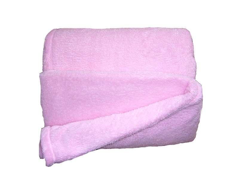 Super soft deka Dadka - ružová