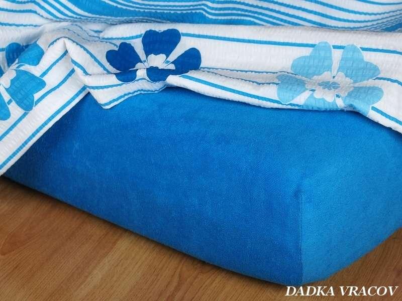 Froté plachta kráľovská modrá exclusive Dadka