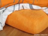 Froté plachta - pomarančová B