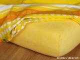 Froté plachta - tmavo žltá B