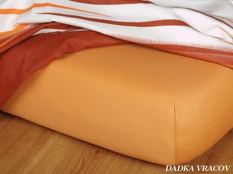 Jersey plachta karamelová Dadka