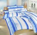 Krepové obliečky Prskavky modré
