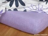 Froté plachta - fialová B