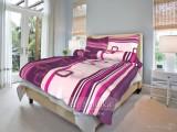 Bavlnené posteľné obliečky Tonda fialový