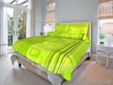 Bavlnené posteľné obliečky Tonda zelený