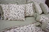 Krepové posteľné obliečky LEVANDULE