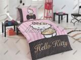 Obliečky Hello Kitty gold