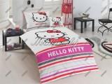 Obliečky Hello Kitty stripe