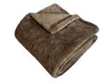 Super soft deka stredne hnedá
