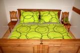 Bavlnené  posteľné obliečky Sandra zelená