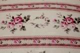 Povlak vlnený z vlneného včesu jednostranný s motívom ružičky ružovej