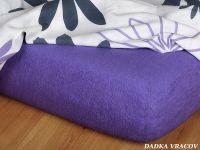 Froté prestieradlo - purpur C