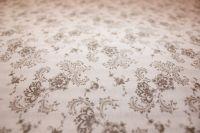 Krepové obliečky s tradičným kvetinovým vzorom v čiernobielej farbe
