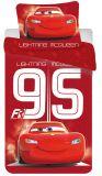 Obliečky Disney Cars 95 red