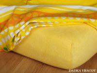 Froté plachta tmavo žltá exclusive Dadka