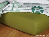 Jersey plachta v olivovej farbe Dadka