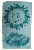 Detský uterák - Slniečko zelený Frotex