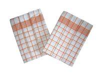Utierky Negativ biela/oranžová - 3 ks Svitap