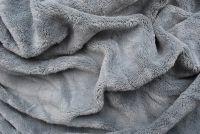 Mikroflanelová plachta šedé