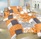 Obliečky satén Bluemoon oranžový