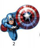 Tvarovaný plnený vankúšik Avengers