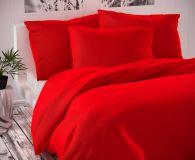 Saténové obliečky červené