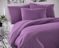 Saténové obliečky fialové