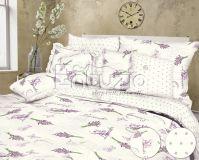 Bavlnené obliečky Lavender white