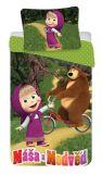 Obliečky Máša a Medveď 015