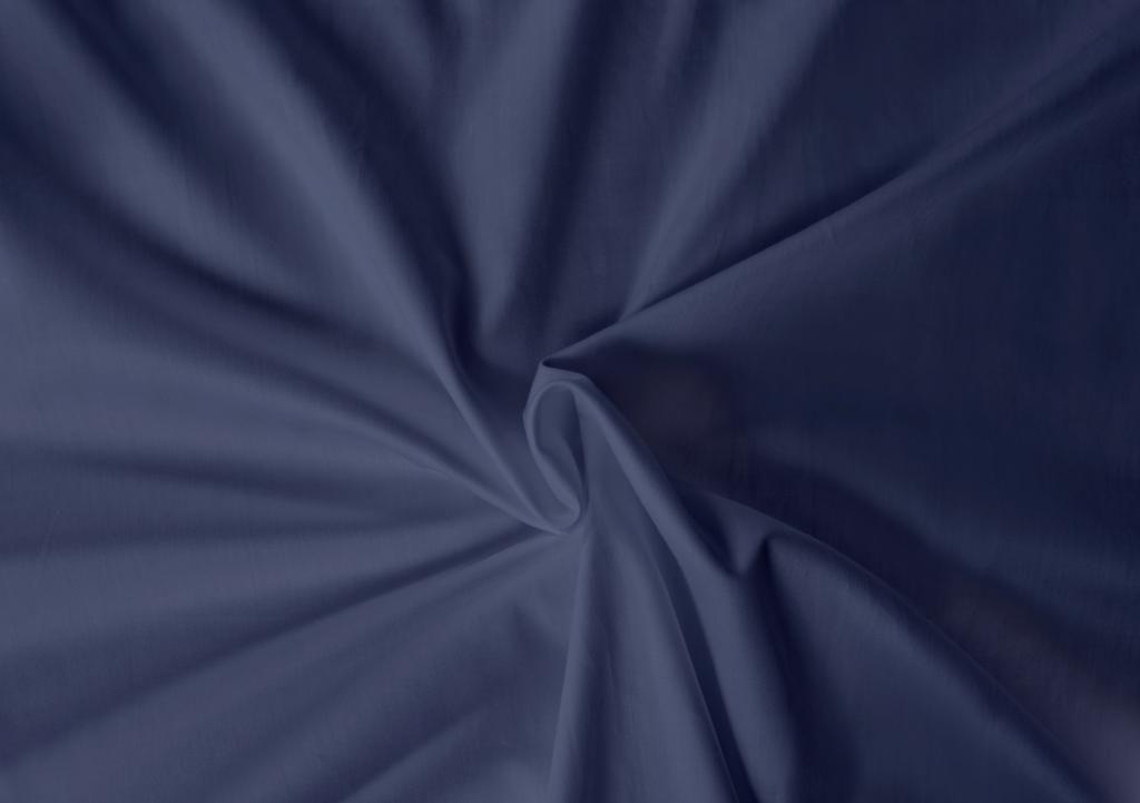 Saténová plachta LUXURY COLLECTION tmavo modrá Kvalitex