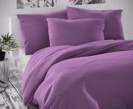 Saténové obliečky fialové luxusné Kvalitex