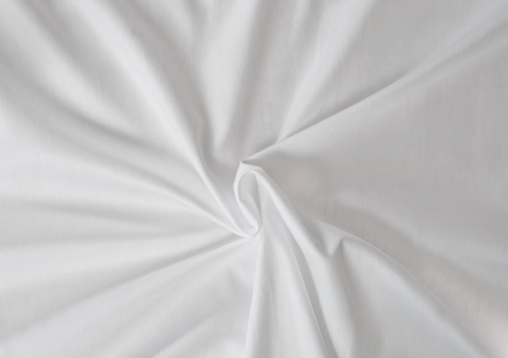 Kvalitná saténová plachta LUXURY COLLECTION v bielej farbe Kvalitex