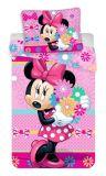 """Obliečky Minnie """"bows and flowers"""""""