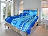 Bavlněné posteľné obliečky Tonda modrá