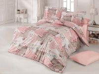Klasické posteľné bavlnené obliečky DELUX LOVE LETTER