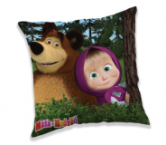 Vankúšik Máša a Medveď in forest