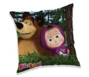 Poťah na vankúšik Máša a Medveď in forest