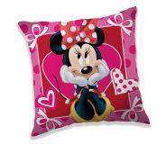 Poťah na vankúšik Minnie hearts 02
