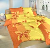 Obliečky krep Motýl žltý