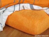 Froté plachta pomarančová exclusive Dadka