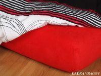 Jersey plachta červená ohnivá Dadka