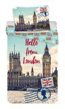 Obliečky fototlač London, Londýn Jerry Fabrics